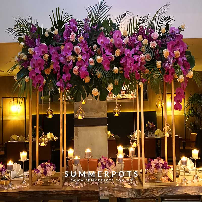 Venue Decor 209 VIP Table Centerpieces