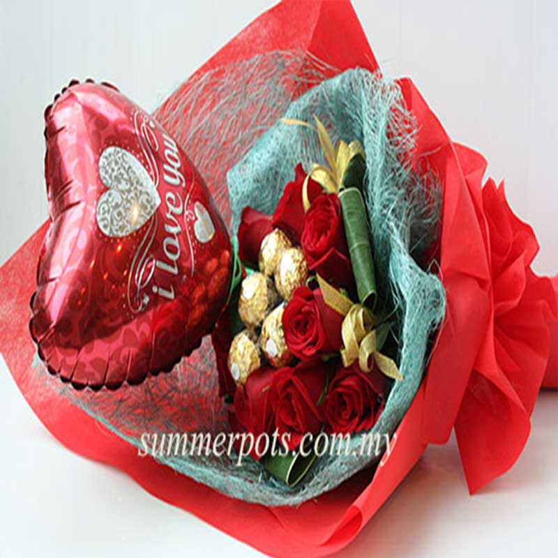 Chocolate Bouquet 214