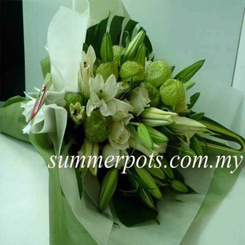 Casablanca Lily Bouquet 363 Hand Bouquets Flowers Same Day Flower Delivery Online Bouquet Delivery Kl Anniversary Bouquet 99 Roses Flower Bouquet Summer Pots Florist