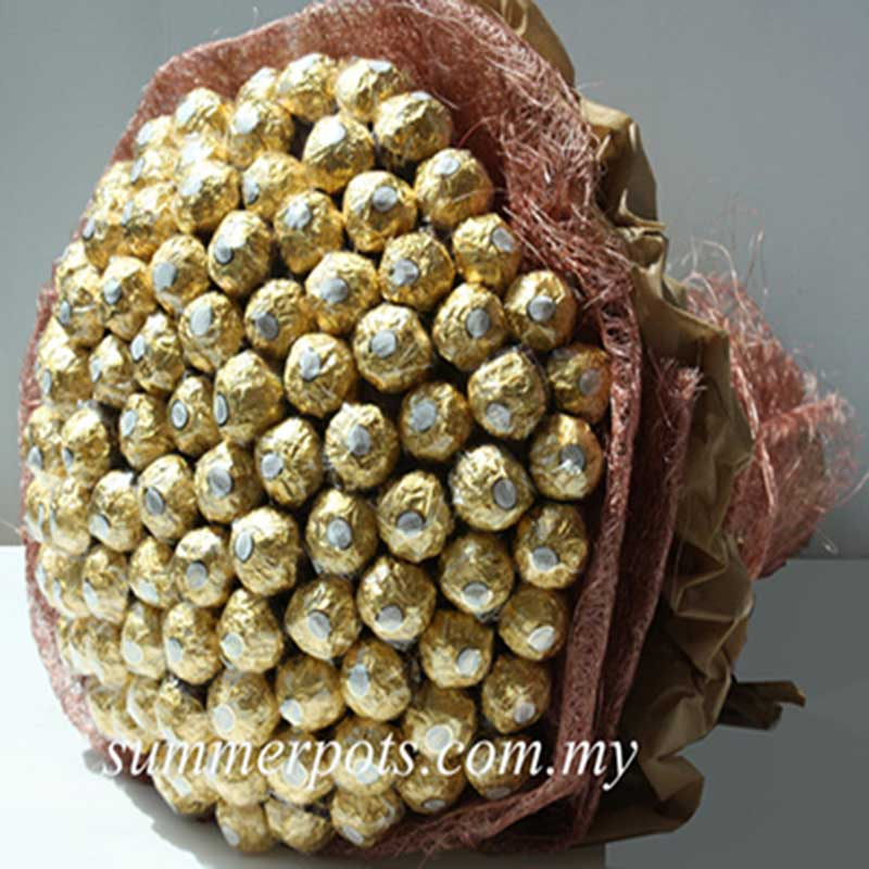 Chocolate Bouquet 332