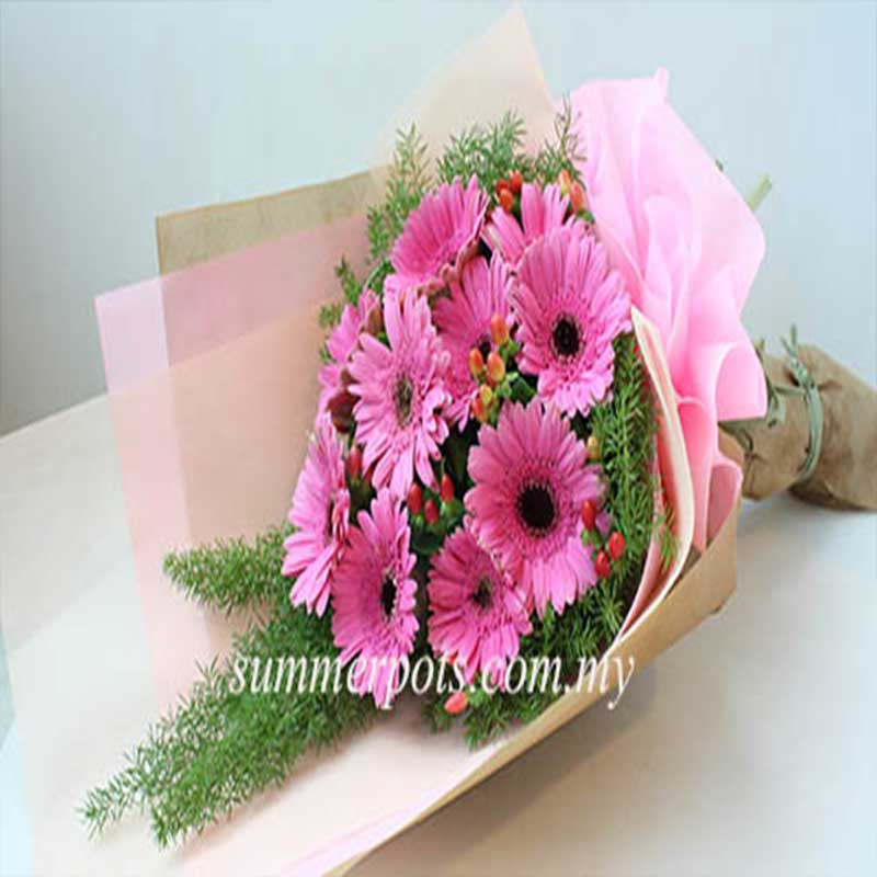 Gerbera Bouquet 219