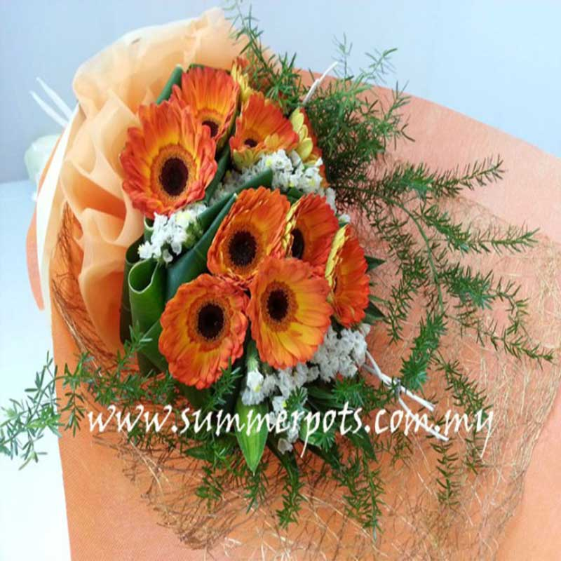 Gerbera Bouquet 280