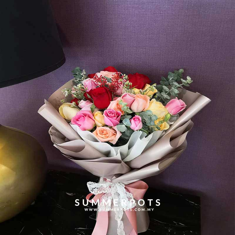 Rose Bouquet 412