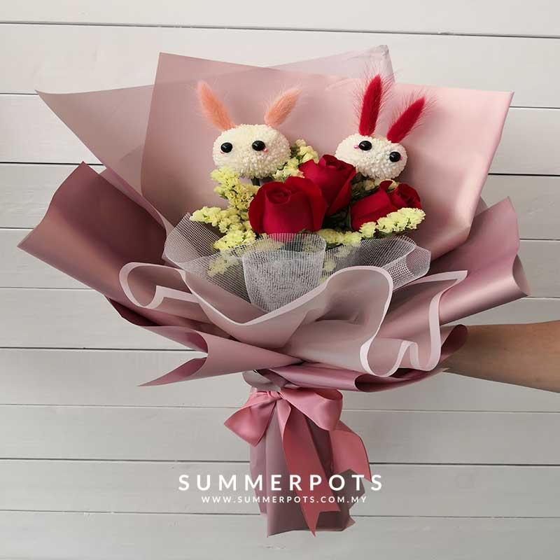 Rose Bouquet 458